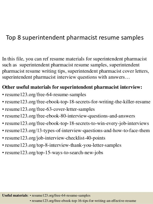 top-8-superintendent-pharmacist-resume-samples-1-638.jpg?cb=1432821243