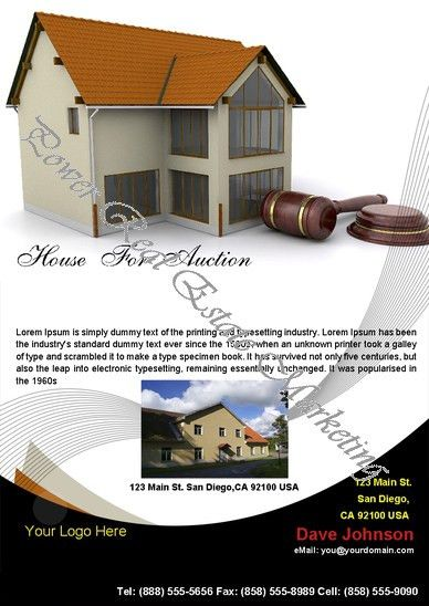 Power Real Estate Marketing - Real Estate Flyers: Real Estate ...