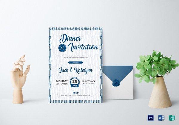 19+ Dinner Invitation Templates – Free Sample, Example, Format ...