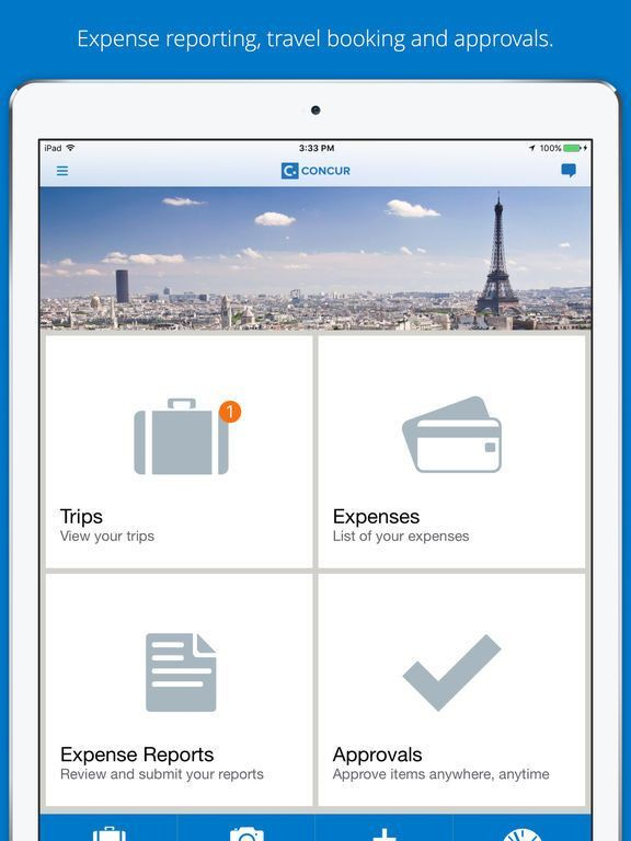 Concur - Travel and Expense on the App Store