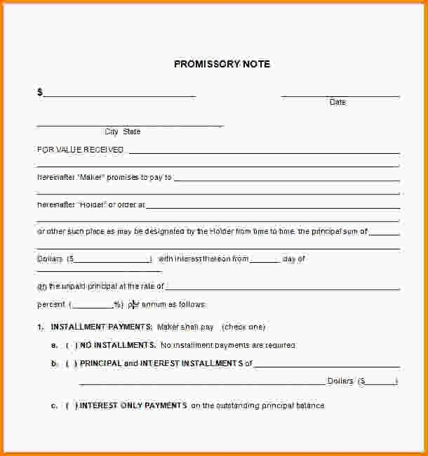 9+ promissory note template word | Letter Template Word