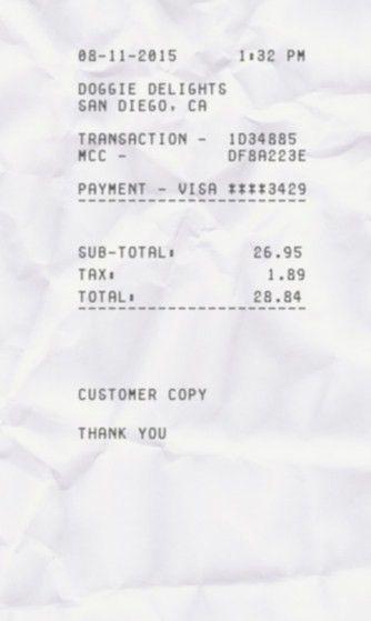 Make-receipt | ExpressExpense - Custom Receipt Maker