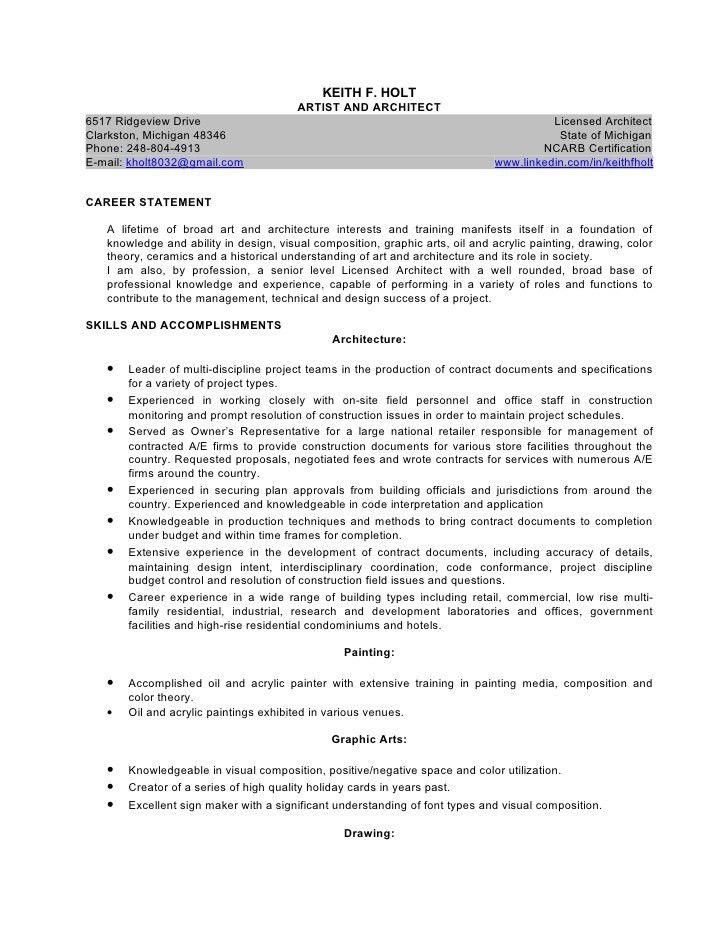 Artist architect resume 01-2011 (2pg)