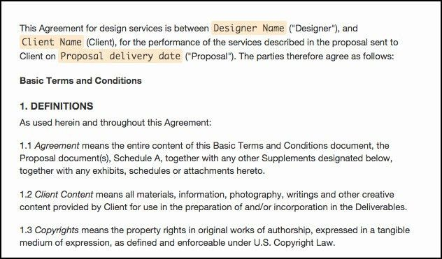 The Web Design Contract: Tips, Tricks, and Templates - IM Creator