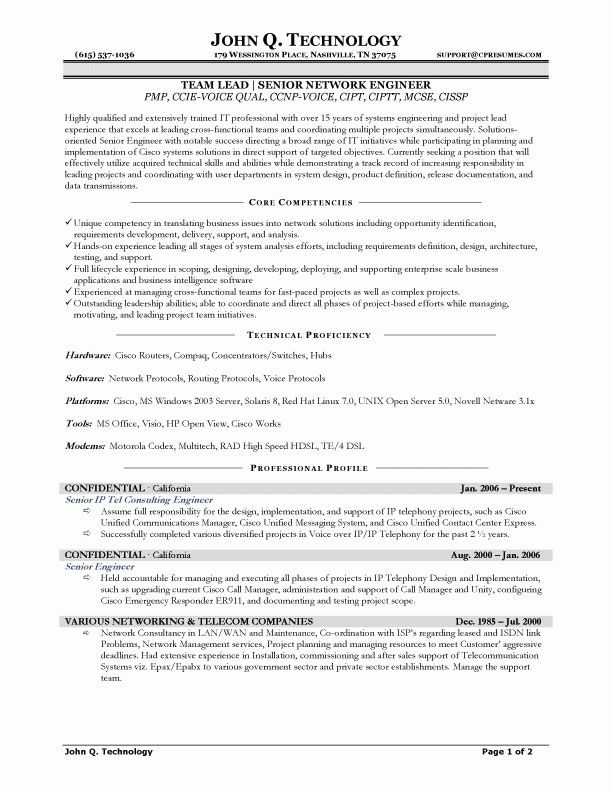 smartness ideas ccna resume 13 network engineer resume template 9 ...