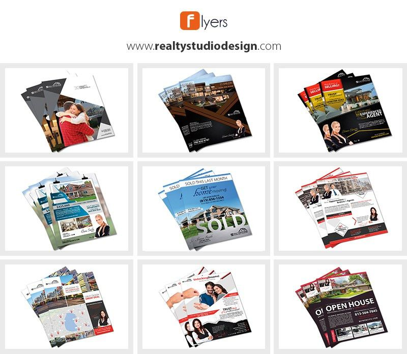 Real Estate Flyer Templates | Real Estate Agent Flyer Templates