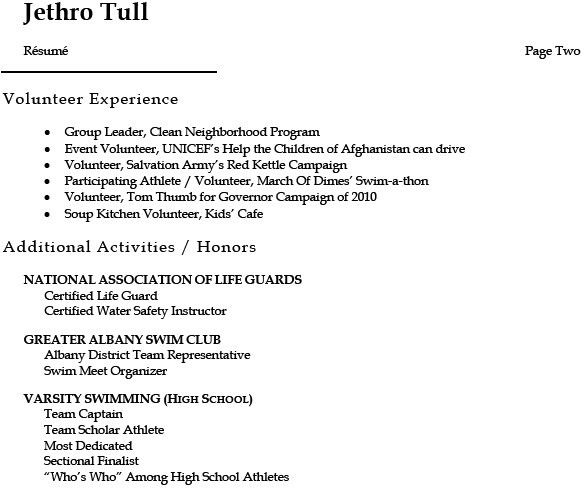sample resume for college student free resumes tips. resume cover ...