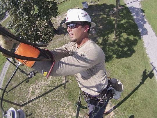 Gulf Power line work hard but crucial