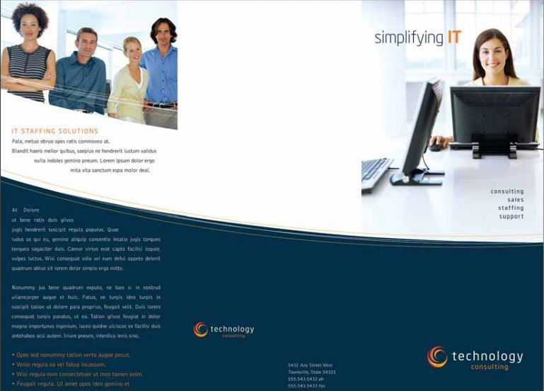 40 Professional Free Tri fold Brochure Templates - Word, PSD ...