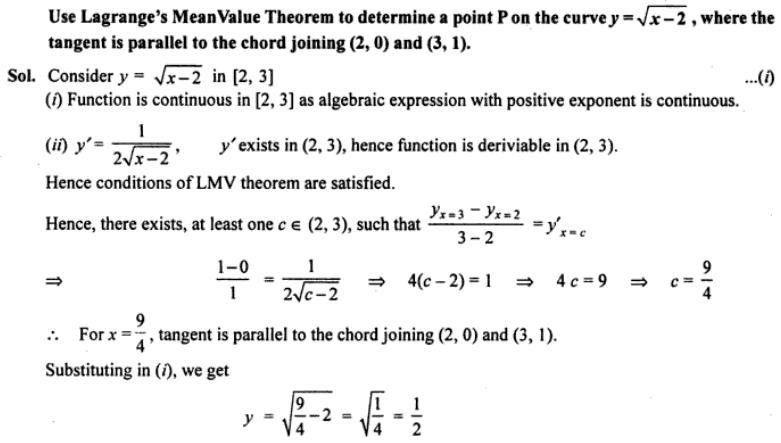 Lagranges Mean Value Theorem Example Problems SKMClasses HSR ...