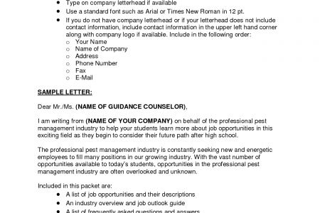 guidance counselor cover letter