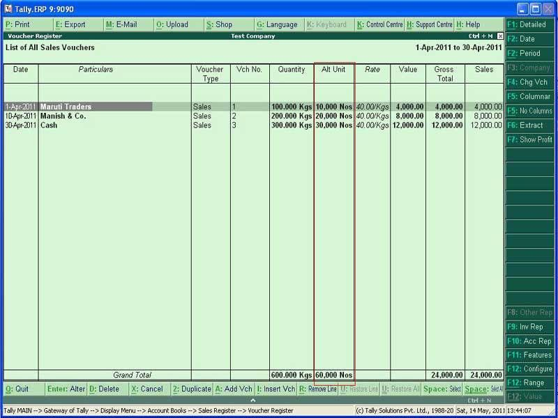 Tally Customization. Tally.ERP 9 Sales, Support, Implementation ...
