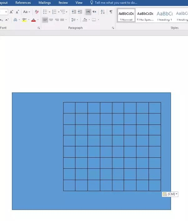 How to rotate a table in Microsoft Word - Quora