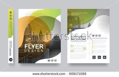 Poster Flyer Pamphlet Brochure Cover Design Stock Vector 609171089 ...