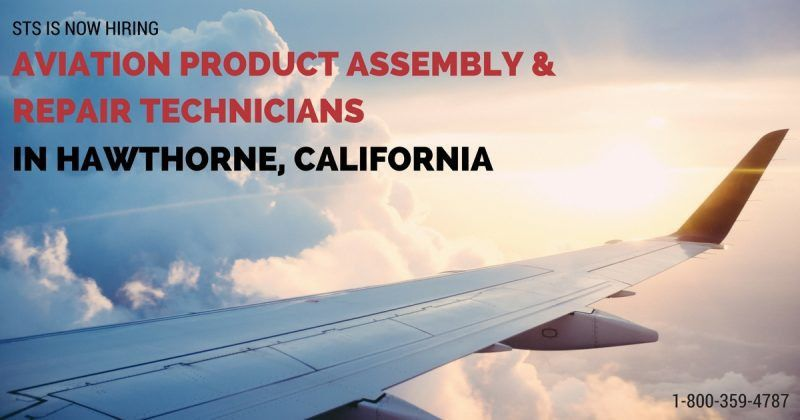 STS Offers Aviation Product Assembly & Repair Technician Jobs in ...