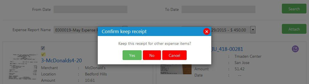 Auto Receipt to Expense | Data Extraction | Key Features ...