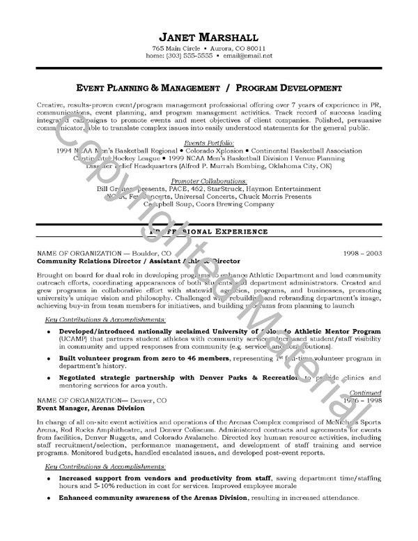 Resume Good Objective | Resume Format Download Pdf with regard to ...