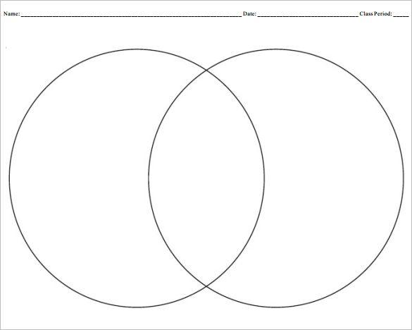 Blank Venn Diagram Templates – 10+ Free Word, PDF Format Download ...