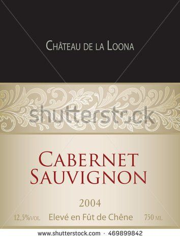 Wine Label Stock Images, Royalty-Free Images & Vectors   Shutterstock