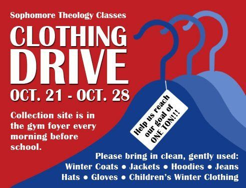 Marmion - Clothing Drive
