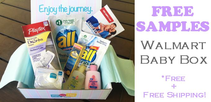 Walmart Baby Box - FREE SAMPLES + FREE SHIPPING | Freebie Bin