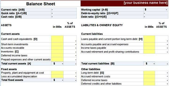 Cashier Balance Sheet Template Excel - Free Download - Project ...