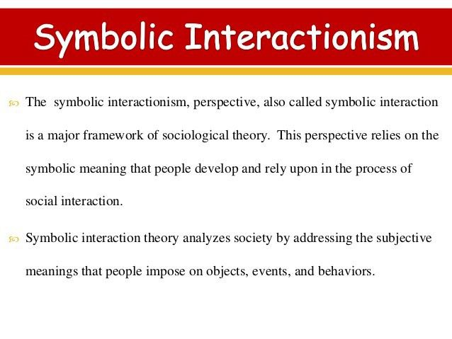 symbolic interact