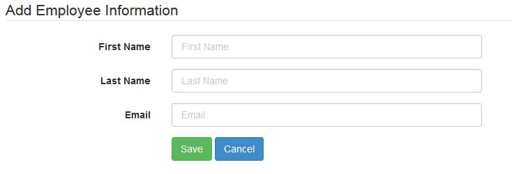 Getting Started With Bootstrap 3 Form And Php Codeigniter
