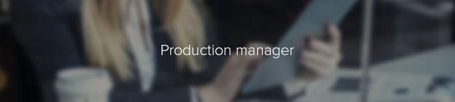 Production manager: job description | TARGETjobs