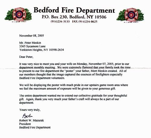 Fire Inspector Cover Letter