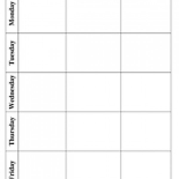 Blank Lesson Plan Template | Have Fun Teaching