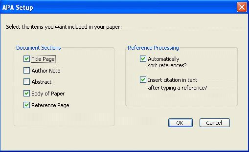 APA Format Styles for Typing Papers in APA Style