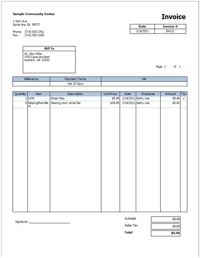 How to add a signature line to your invoice in Business ...