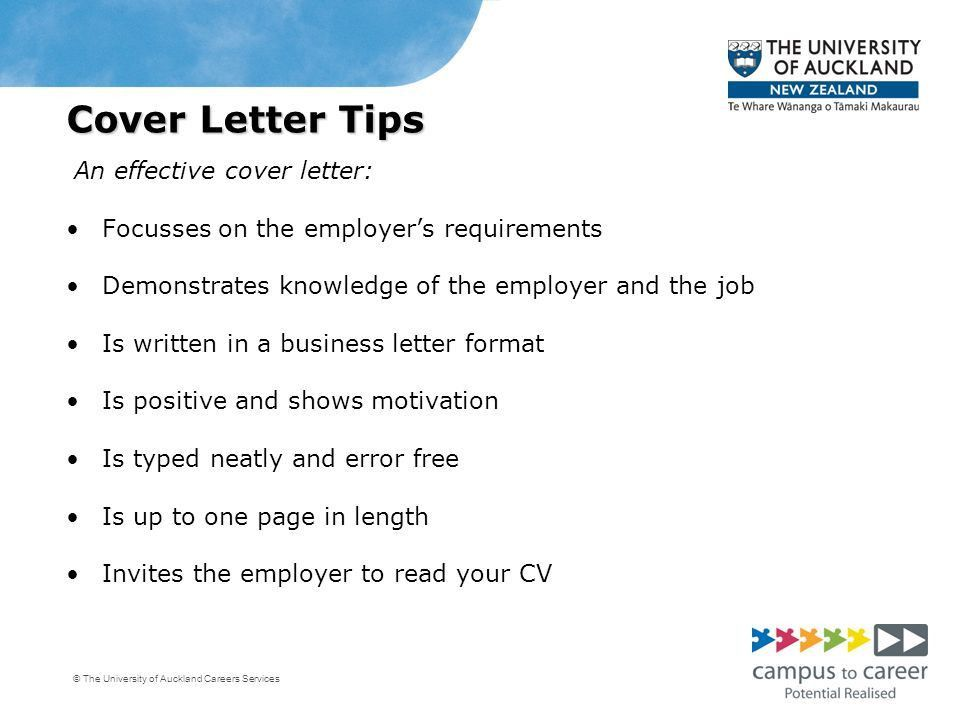 Effective Cover Letters - cv01.billybullock.us