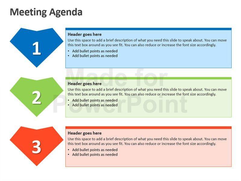 Meeting Agenda - Business PPT Slides