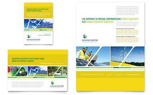 Environmental Non Profit   Print Ad Templates   Non Profit