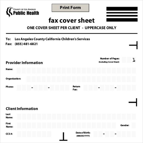 12+ Fax Cover Templates U2013 Free Sample, Example Format Download .