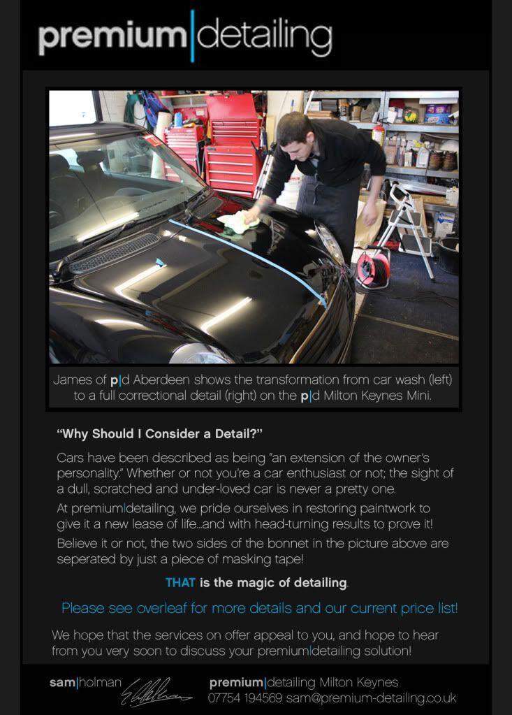 9 best auto detail images on Pinterest | Auto detailing, Flyer ...
