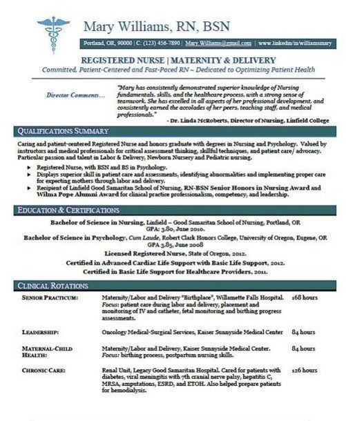 Best 25+ Nursing resume template ideas on Pinterest | Nursing ...