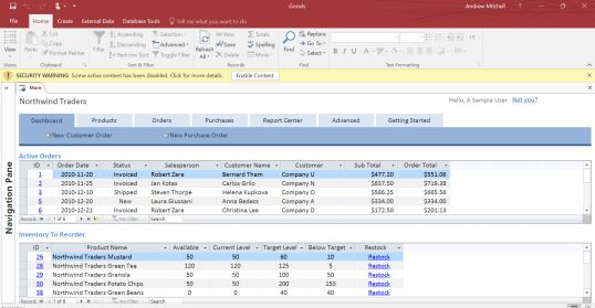 Download Microsoft Access Templates for Business | rabitah.net