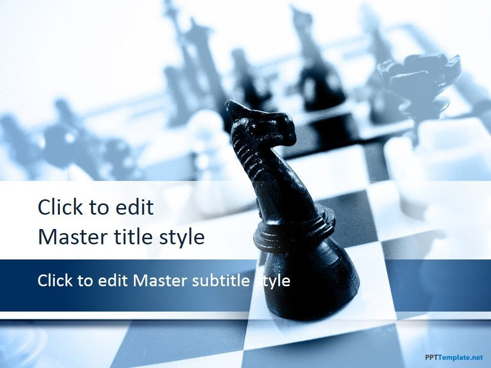 Free Chess Knight PPT Template is a business & strategy theme ...