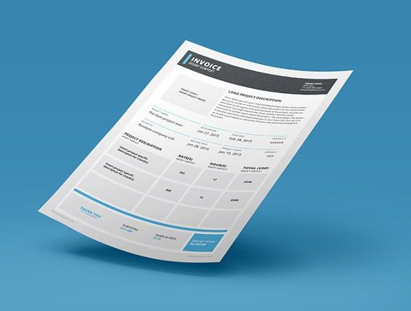 InDesign Invoice Template - 7+ Free Indesign Format Download ...