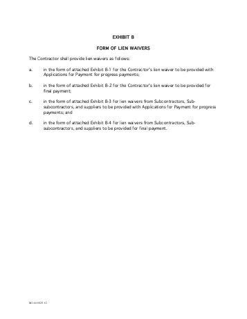 Lien Waiver Form. General Liability Waiver Form | General ...