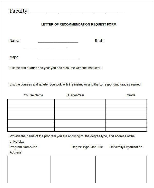 Letter Of Recommendation For Job. Sample Letter Recommendation ...