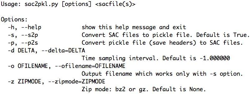 9. SAC Data Access — AIMBAT 0.2.1 documentation