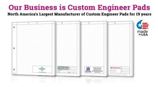 Custom Engineer Graph Paper Pads | PrintPPS.com