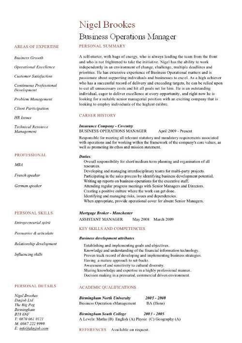Marvelous Plant Manager Resume 81 In Resume Templates With Plant ...