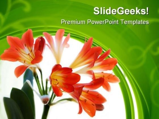Flower PowerPoint templates, Slides and Graphics