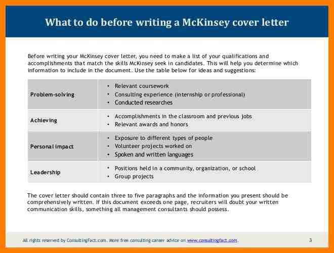 4+ mckinsey cover letter sample | sephora resume