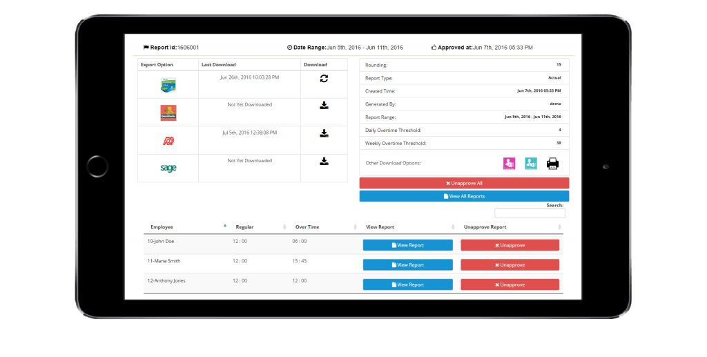 Employee Time Tracking Timesheet APP + GPS Geofencing Technology